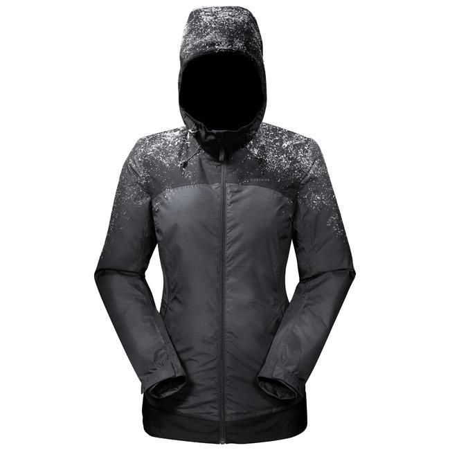 Women's Snow Hiking Jacket SH100 X-Warm (Waterproof) - Black