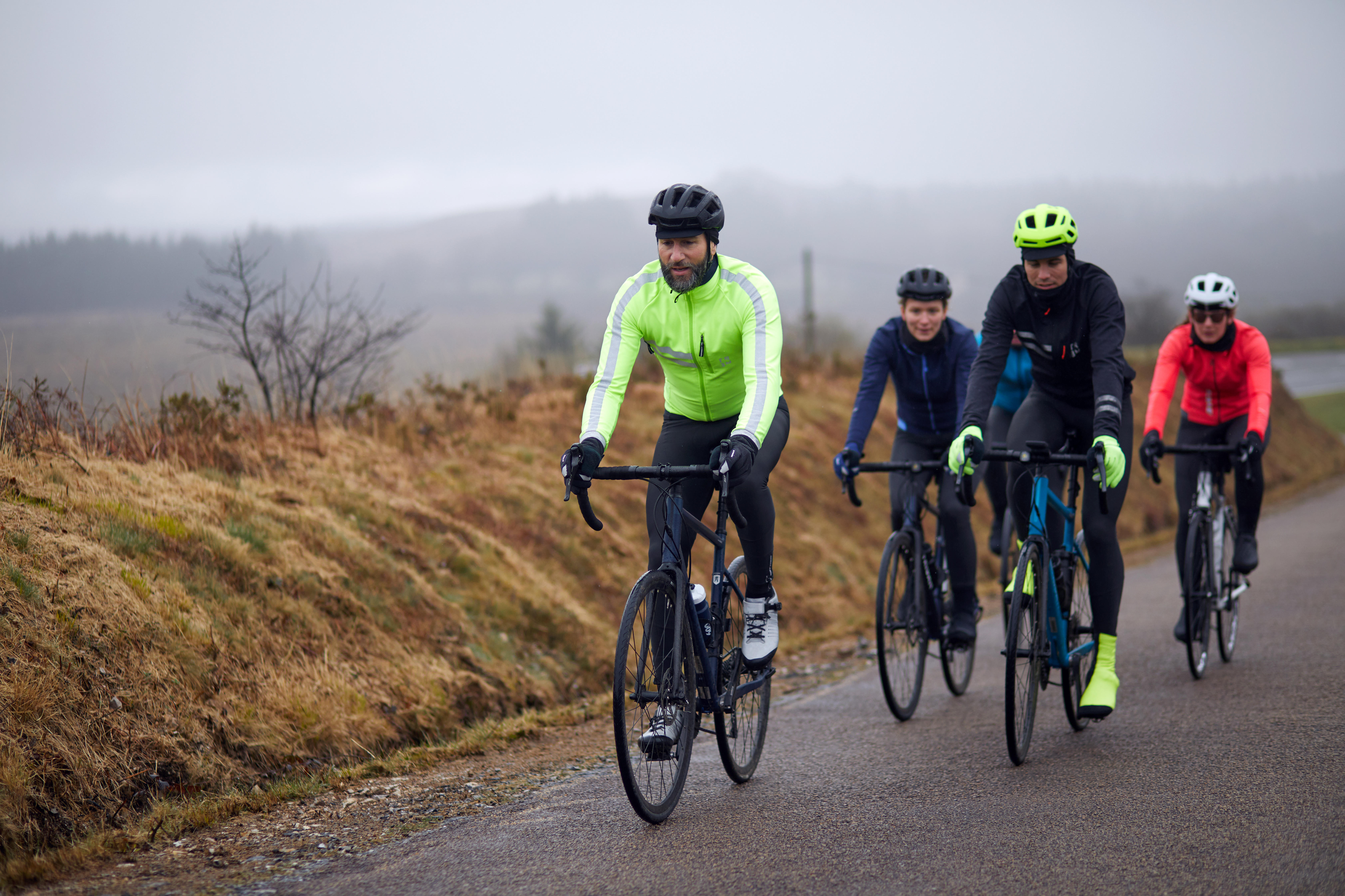 velo route temps froid