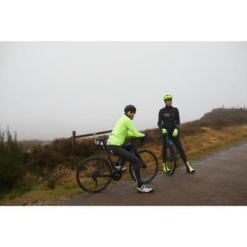 Chaqueta Ciclismo Invierno Hombre RC500 NEGRO