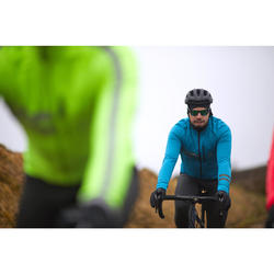 Men's Cycling Winter Jacket RC500 - Sea Blue