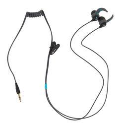 Kit écouteurs MP3 étanches de natation V3 Nabaiji Gris