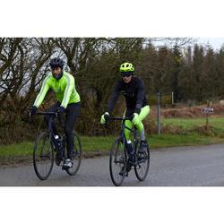 Fahrrad Winterjacke Rennrad RC 500 Herren schwarz