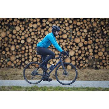 Collant vélo route à bretelles TRIBAN RC500 noir