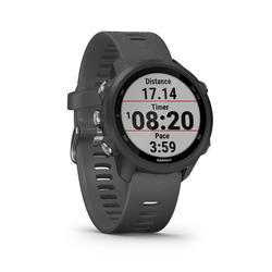GPS-Pulsuhr Laufuhr Forerunner 245 grau