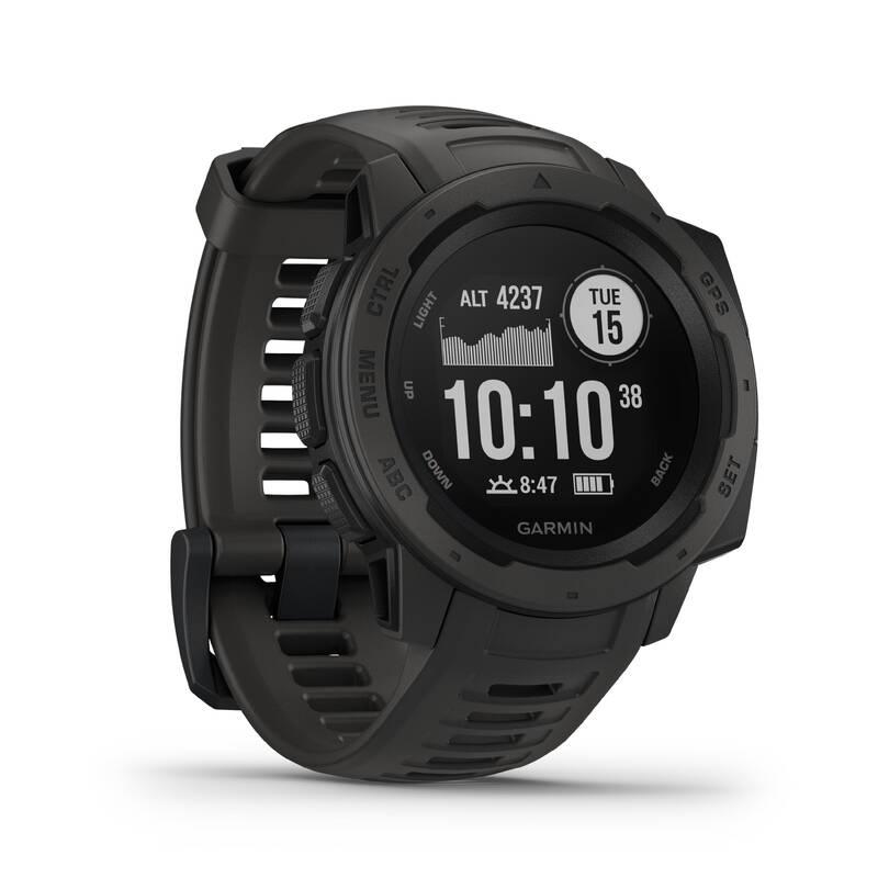 BĚŽECKÉ GPS HODINKY Běh - HODINKY S GPS INSTINCT  GARMIN - Běžecká elektronika