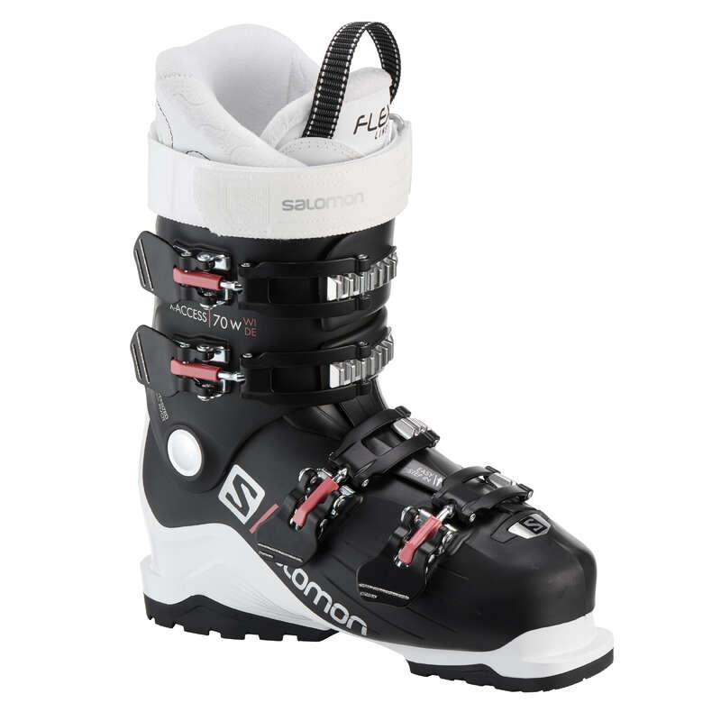 WOMEN'S SKI BOOTS INTERMED. SKIERS Skiing - WOMEN'S SKI BOOT SALOMON X ACC SALOMON - Ski Equipment