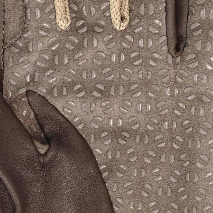 Rijhandschoenen Performer voor volwassenen bruin