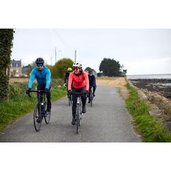 男款自行車冬季外套RC500 - 海藍色