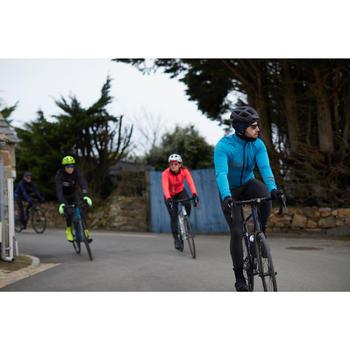 Veste hiver de vélo RC500 homme bleu mer