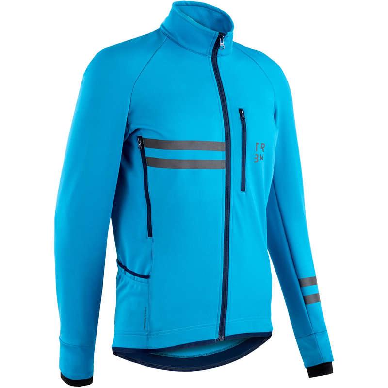 ABB BICI CORSA CICLOTUR TEMPO FREDDO UOM Ciclismo, Bici - Giacca ciclismo uomo RC500 blu TRIBAN - ABBIGLIAMENTO UOMO E DONNA