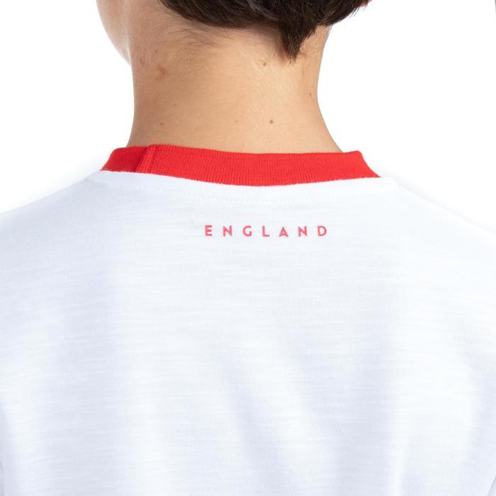 Fanshirt Rugby-WM 2019 England Kinder weiß