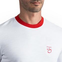 Rugbyshirt voor heren Engeland wit voor supporters van de wereldbeker rugby 2019