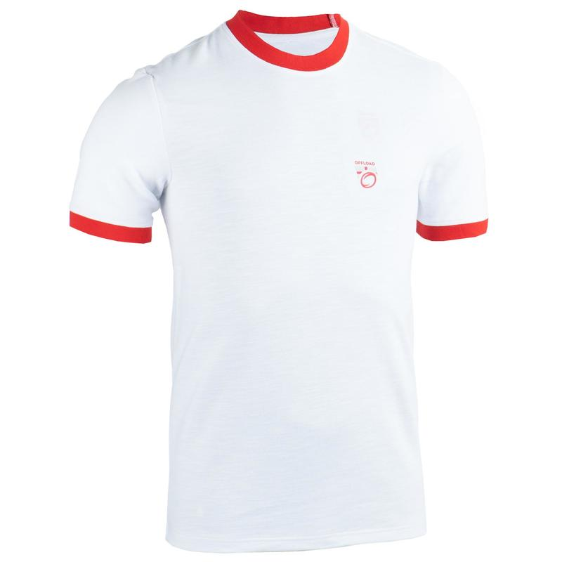 Men's England Supporters Top T-Shirt - White