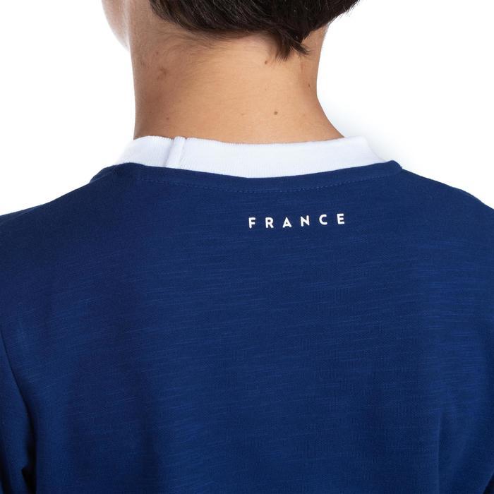 Camiseta Rugby Offload Hincha Francia Copa del Mundo de Rugby 2019 niños azul
