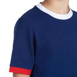 T shirt rugby supporter Rugby 2019 France junior bleu