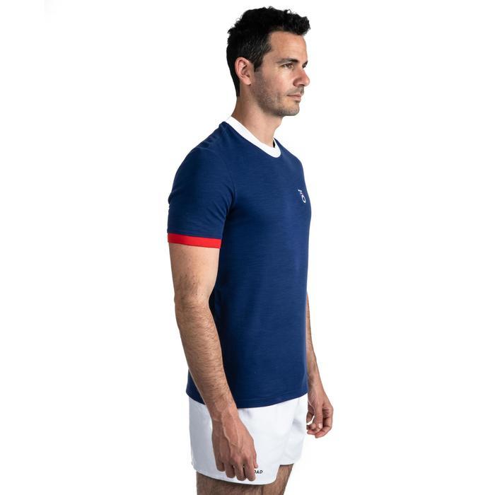 Herenrugbyshirt Frankrijk 2019 blauw