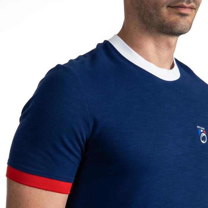 Rugby-Fanshirt Frankreich 2019 Erwachsene blau