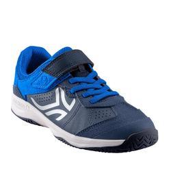 Tennisschoenen voor kinderen TS160 marineblauw/blauw
