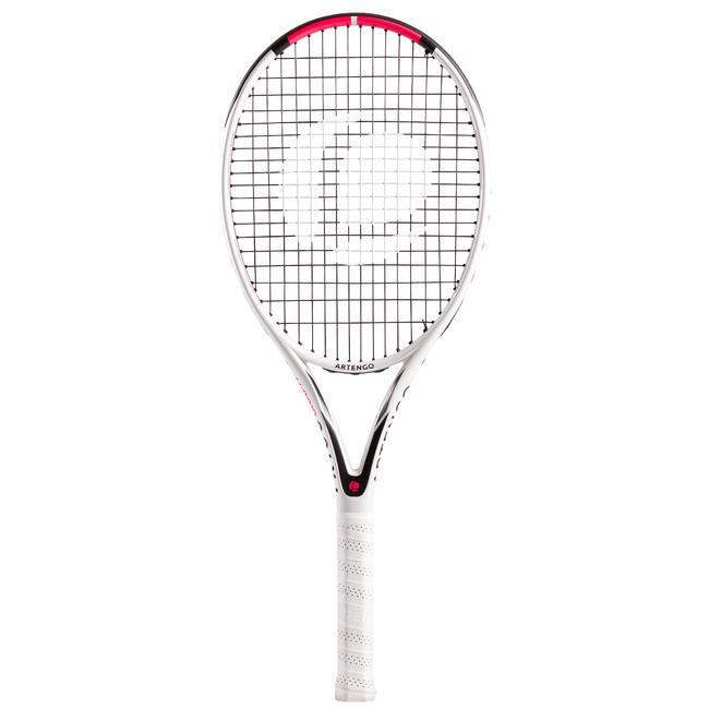 Tennis Racket Adult TR160 Graph - White