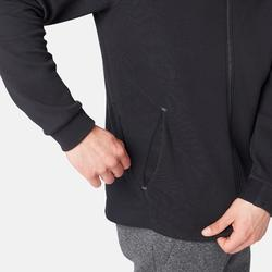 溫和健身與皮拉提斯Spacer連帽外套530 - 黑色