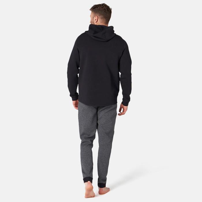 530 Spacer Hooded Pilates & Gentle Gym Jacket - Black