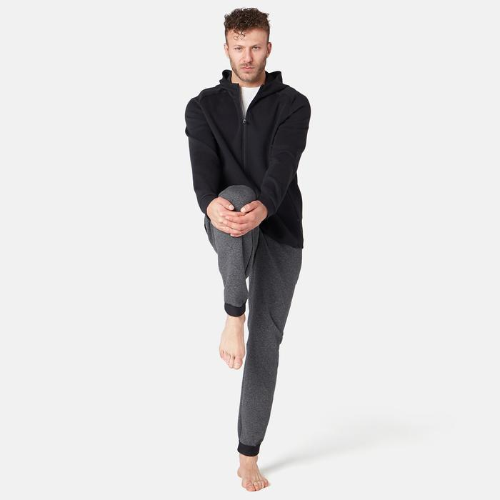 530 Spacer Hooded Pilates & Gentle Gym Jacket - Black