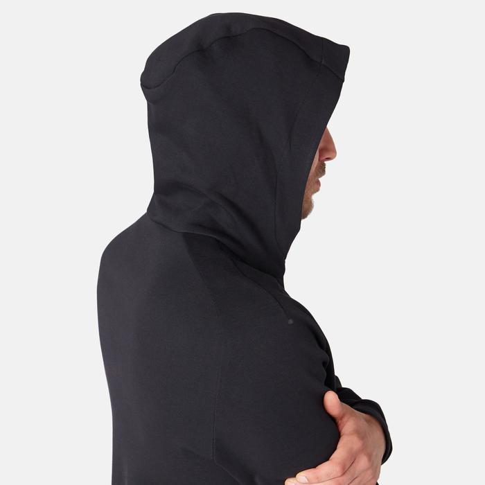 Veste 530 spacer capuche Pilates Gym douce homme noir
