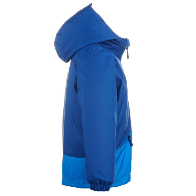KIDS' SKI JACKET 100 - BLUE