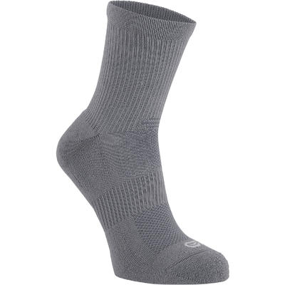 MID-HEIGHT COMFORT RUNNING SOCKS 2-pack - GREY