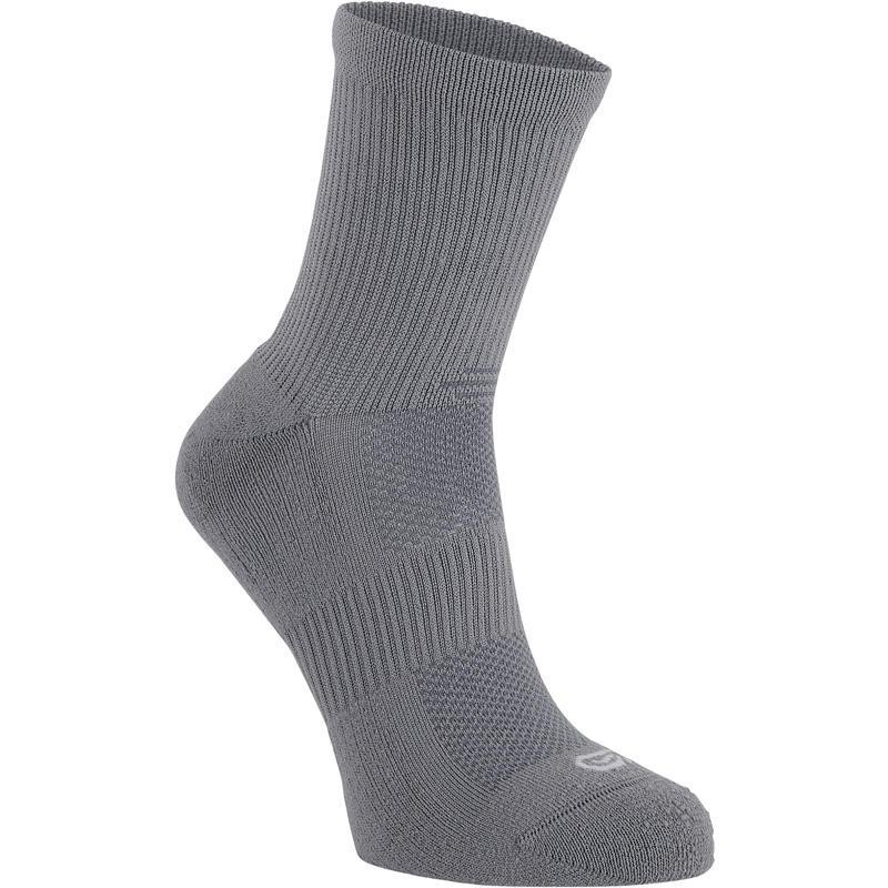 MID-HEIGHT COMFORT RUNNING SOCKS 2-pack - GREY