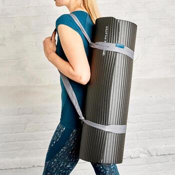 Pilatesmatte 900 Komfort Größe L 20mm grau