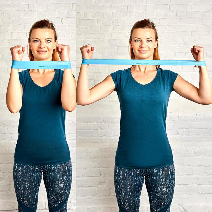 Gói ba dây co giãn mini tập Pilates 100