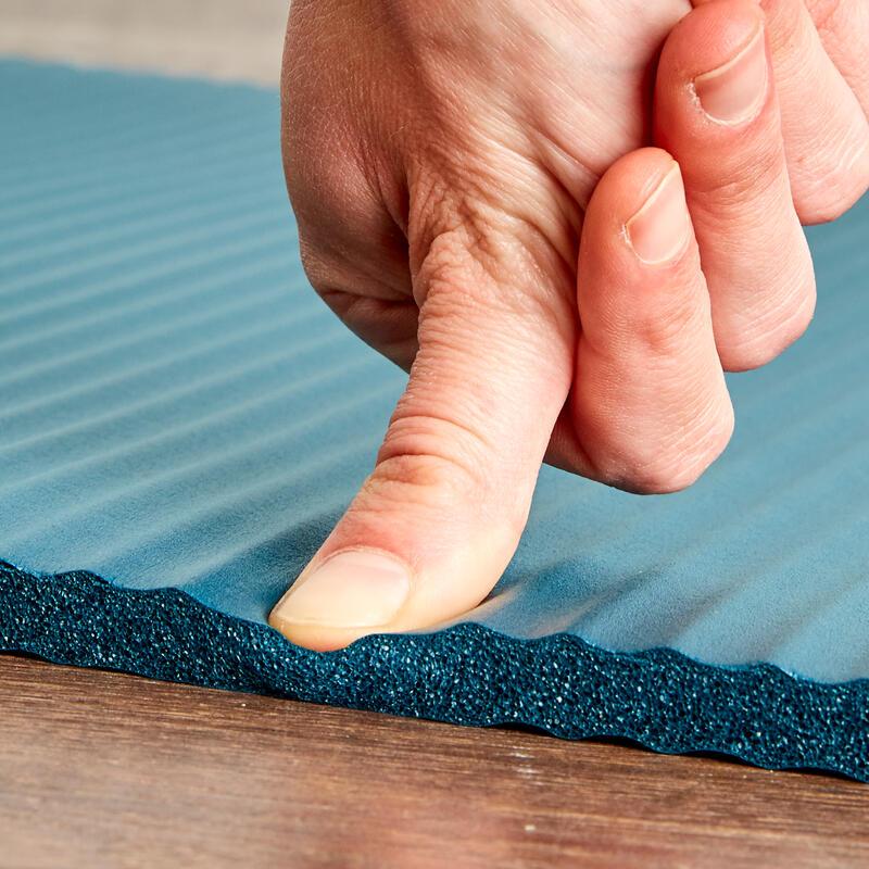 Comfort Pilates Floor Mat 100 Size S 10mm - Dark petrol blue