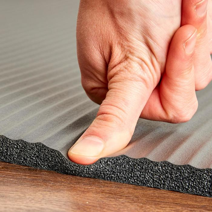 皮拉提斯地墊Comfort - 灰色/M號,180 cm x 60 cm x 15 mm