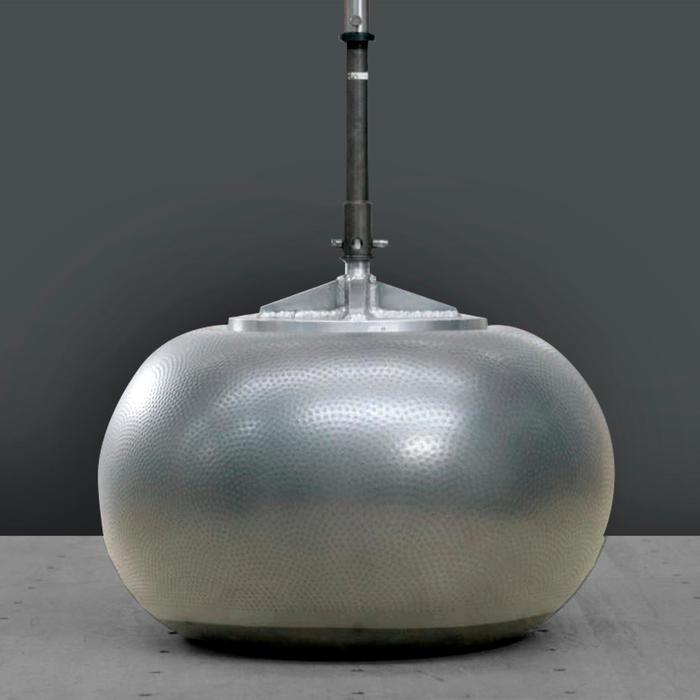 穩定抗力球 - 灰色