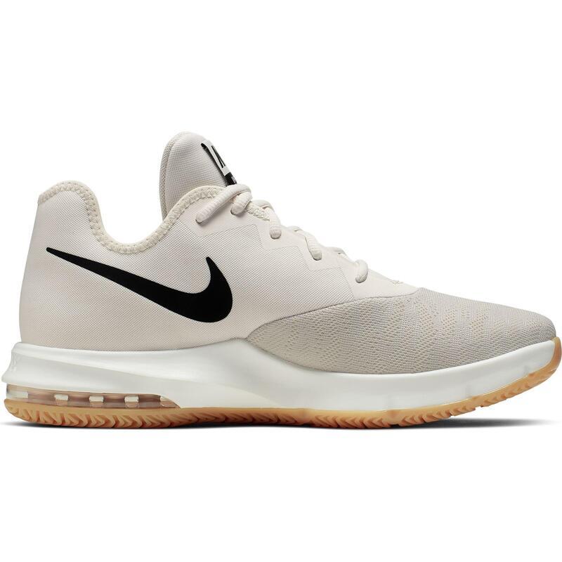 Intermediate Basketball Shoes Air Max Infuriate III - White