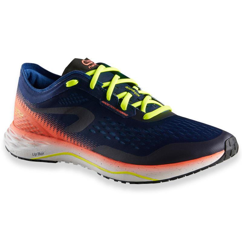 รองเท้าวิ่งสำหรับผู้ชายรุ่น KIPRUN KD LIGHT (สีน้ำเงิน/แดง)