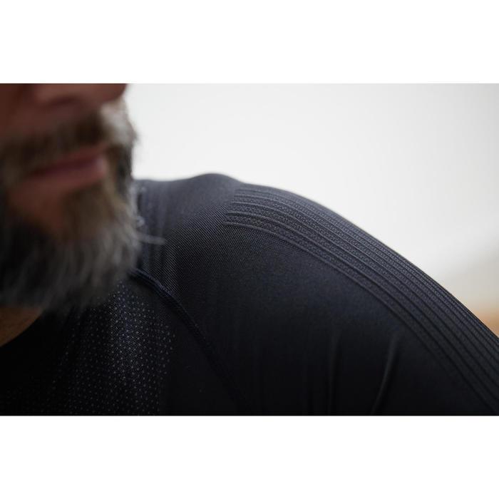 Wielren ondershirt heren Roadc 500 met lange mouwen zwart