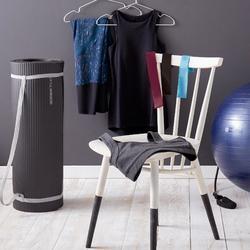 Esterilla Pilates Domyos 900 Confort Negro Talla L 20 MM GRIS