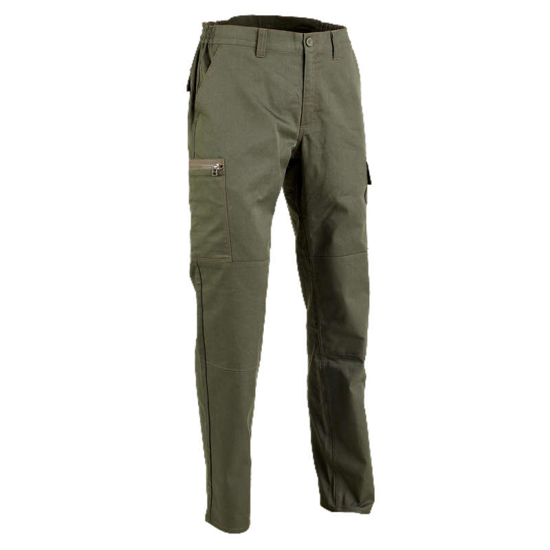 TROUSERS/SHIRTS Shooting and Hunting - STEPPE 300 LTD GREEN SOLOGNAC - Hunting and Shooting Clothing