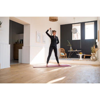 Trainingsjacke Free Move Gym & Pilates Damen grau