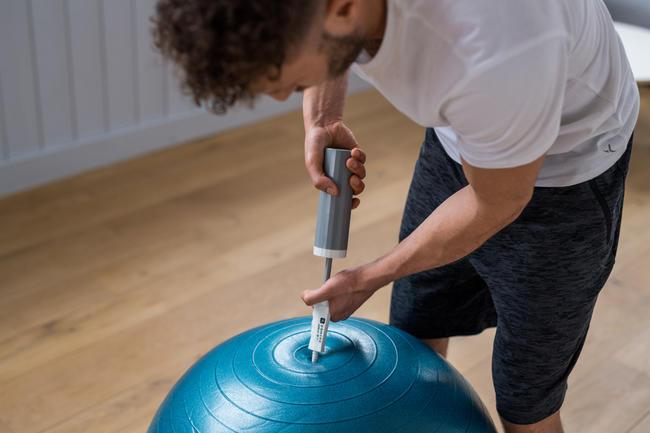 Gym Swiss Ball Pump