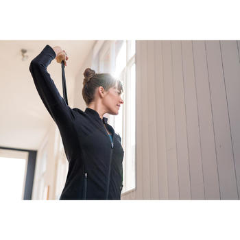 Chaqueta Free Move Pilates y Gimnasia suave mujer gris