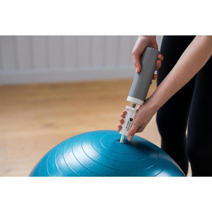 Pumpe für Gymnastikbälle 100 Aufpumpen Entleeren Pilates klein 0,9l