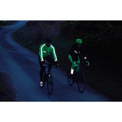 Calças Térmicas de Alças Bicicleta RC500 Amarelo Fluorescente Visíveis EN1150