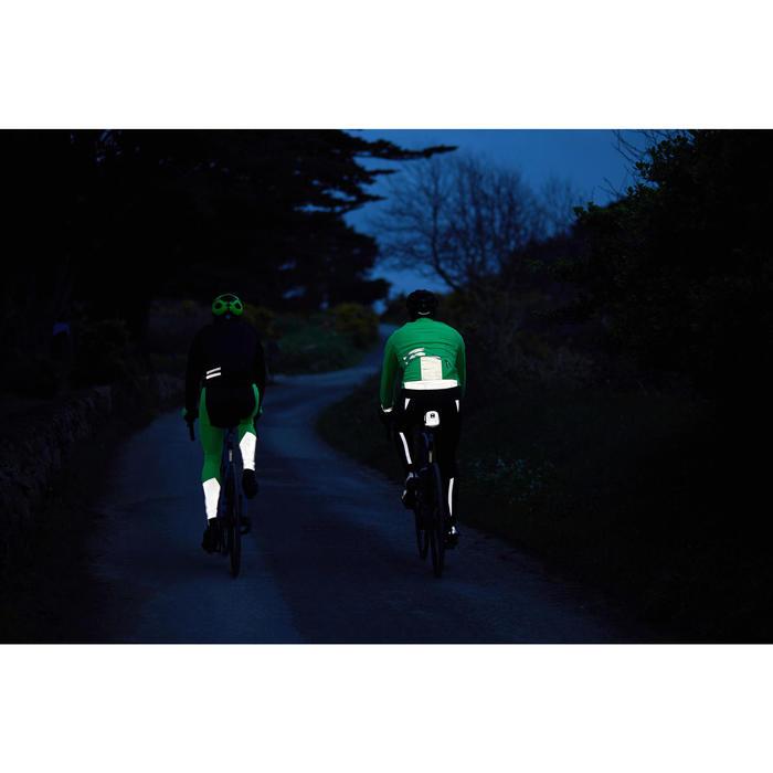 Fahrrad Winterjacke Rennrad RC 500 neongelb (Super sichtbar)