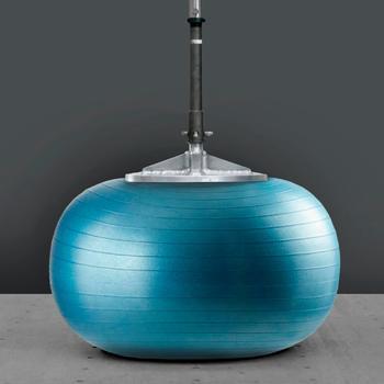 皮拉提斯防爆抗力球 - 藍色