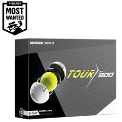 Bola de golf TOUR 900 x12 Blanco