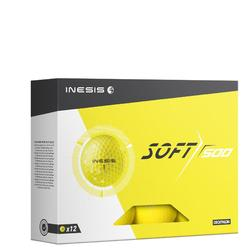 Soft 500 Golf Ball x12 - Yellow