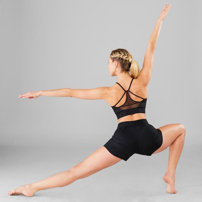 Short ceinturé danse moderne femme noir